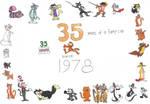Garfield's 35th birthday