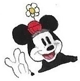 Minnie Mouse by brazilianferalcat