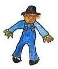 Scarecrow by brazilianferalcat
