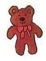 Teddy bear by brazilianferalcat