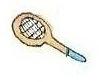 Tennis racket by brazilianferalcat
