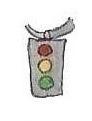 Traffic light by brazilianferalcat