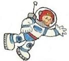 Astronaut by brazilianferalcat