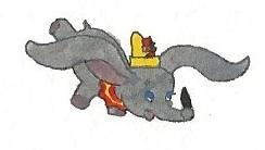 Dumbo and Timothy by brazilianferalcat