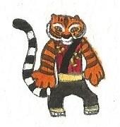 Tigress by brazilianferalcat