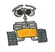 WALL-E by brazilianferalcat