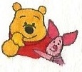 Winnie the Pooh and Piglet by brazilianferalcat