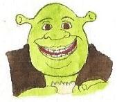 Shrek by brazilianferalcat