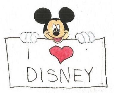 I love Disney by brazilianferalcat