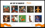Top 10 Favorite Foxes