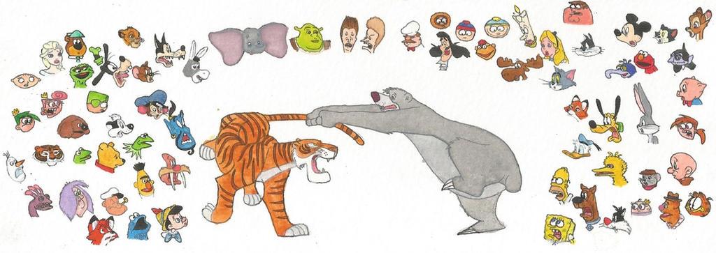 50th anniversary of The Jungle Book by brazilianferalcat
