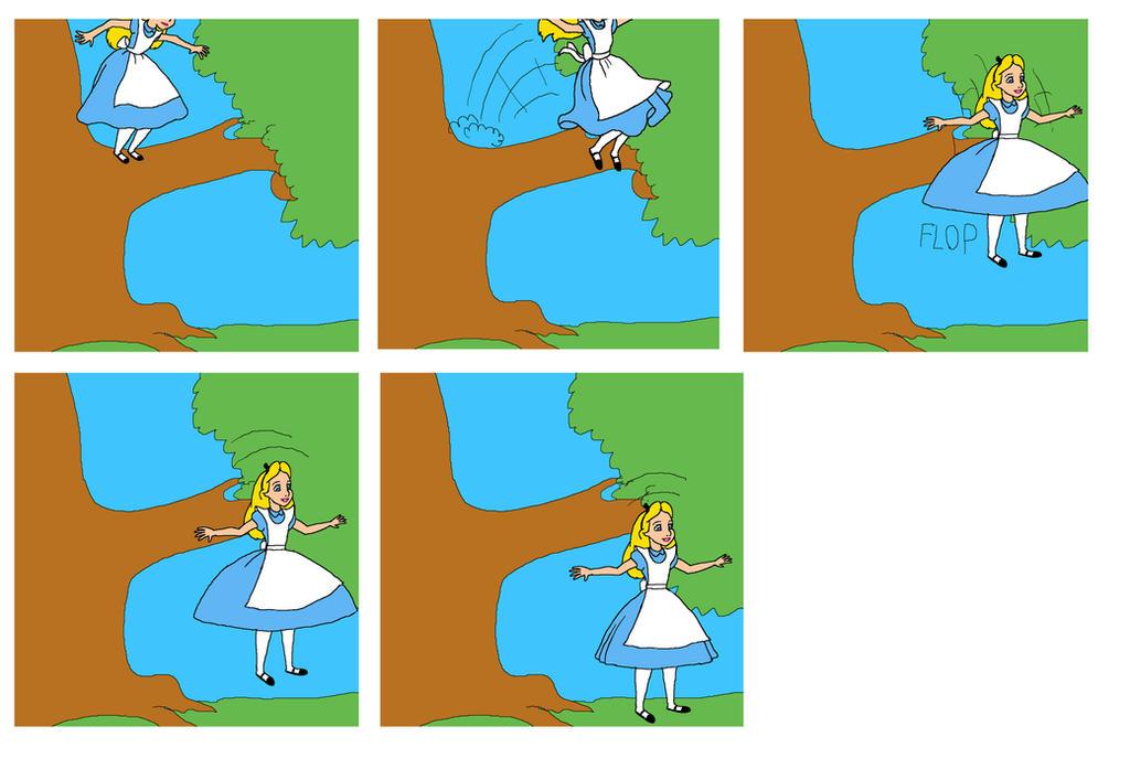 Disney Alice In Wonderland Parachute