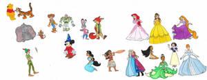 Disney by brazilianferalcat