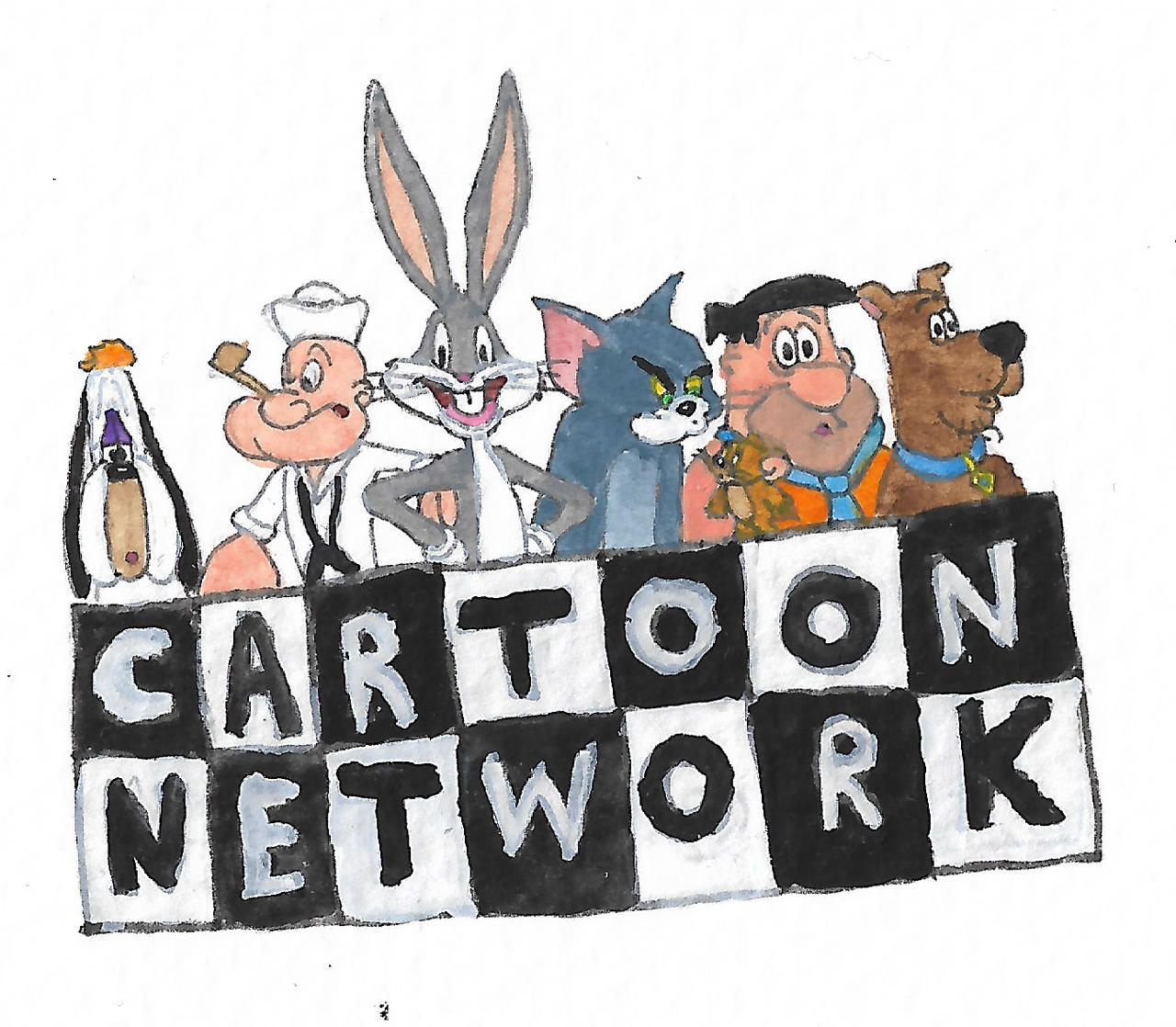 In the tribute of Cartoon Network