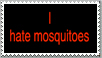 I hate mosquitoes