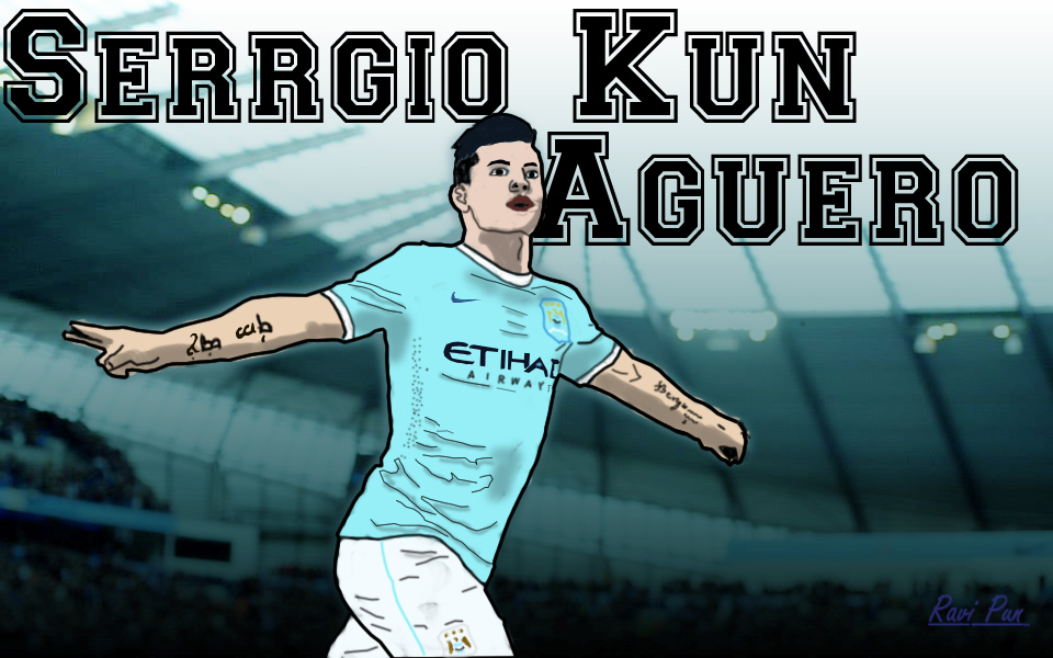Sergio Kun Aguero 16 By R1249 On DeviantArt