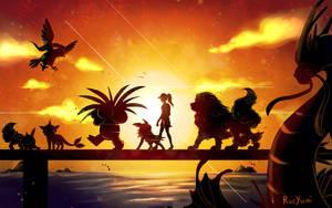 Pokemon Go Journey by RueYumi