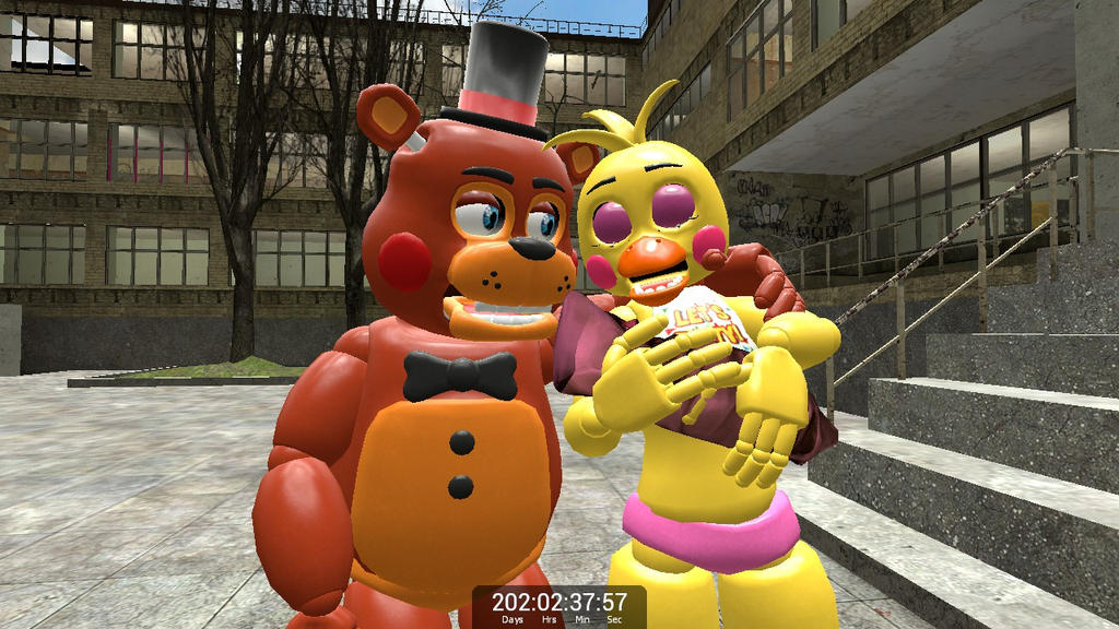 Baby Freddy Toys : Toy freddy and chica has a baby by fluttershy on