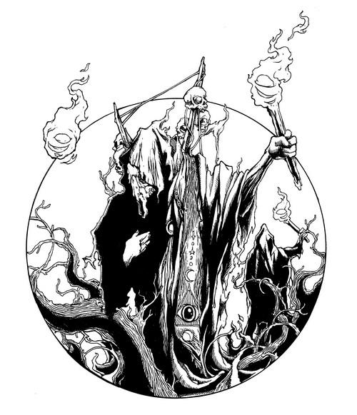 the Death by belukar