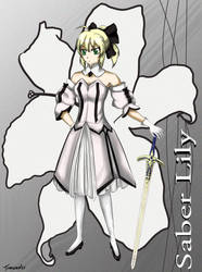 Saber Lily by Trancaster