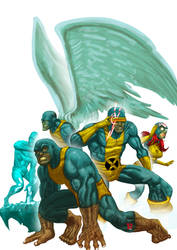 X Men by d-forme