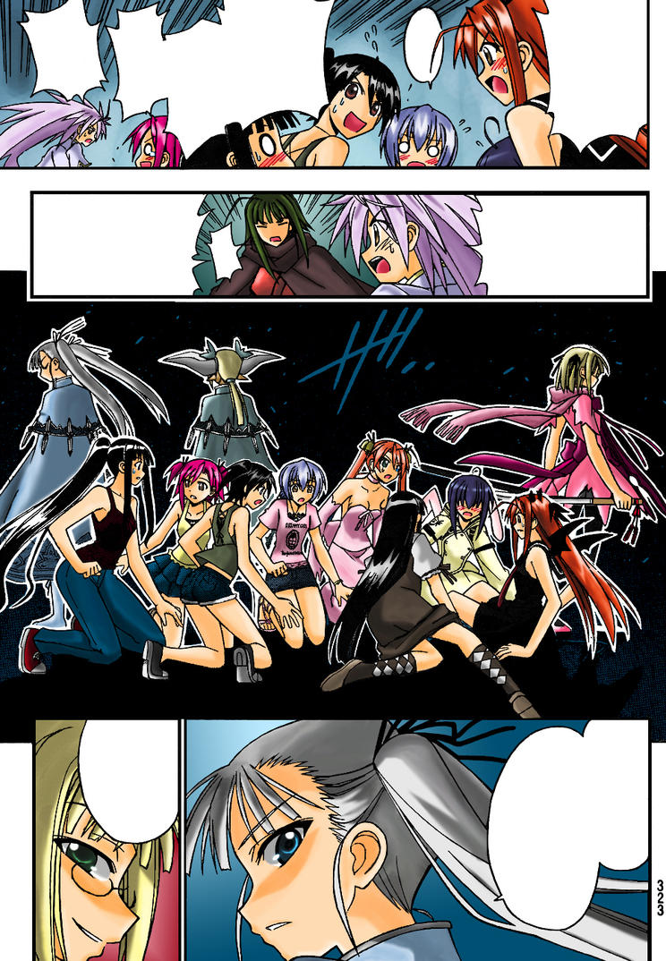 negima anime coloring pages - photo#44
