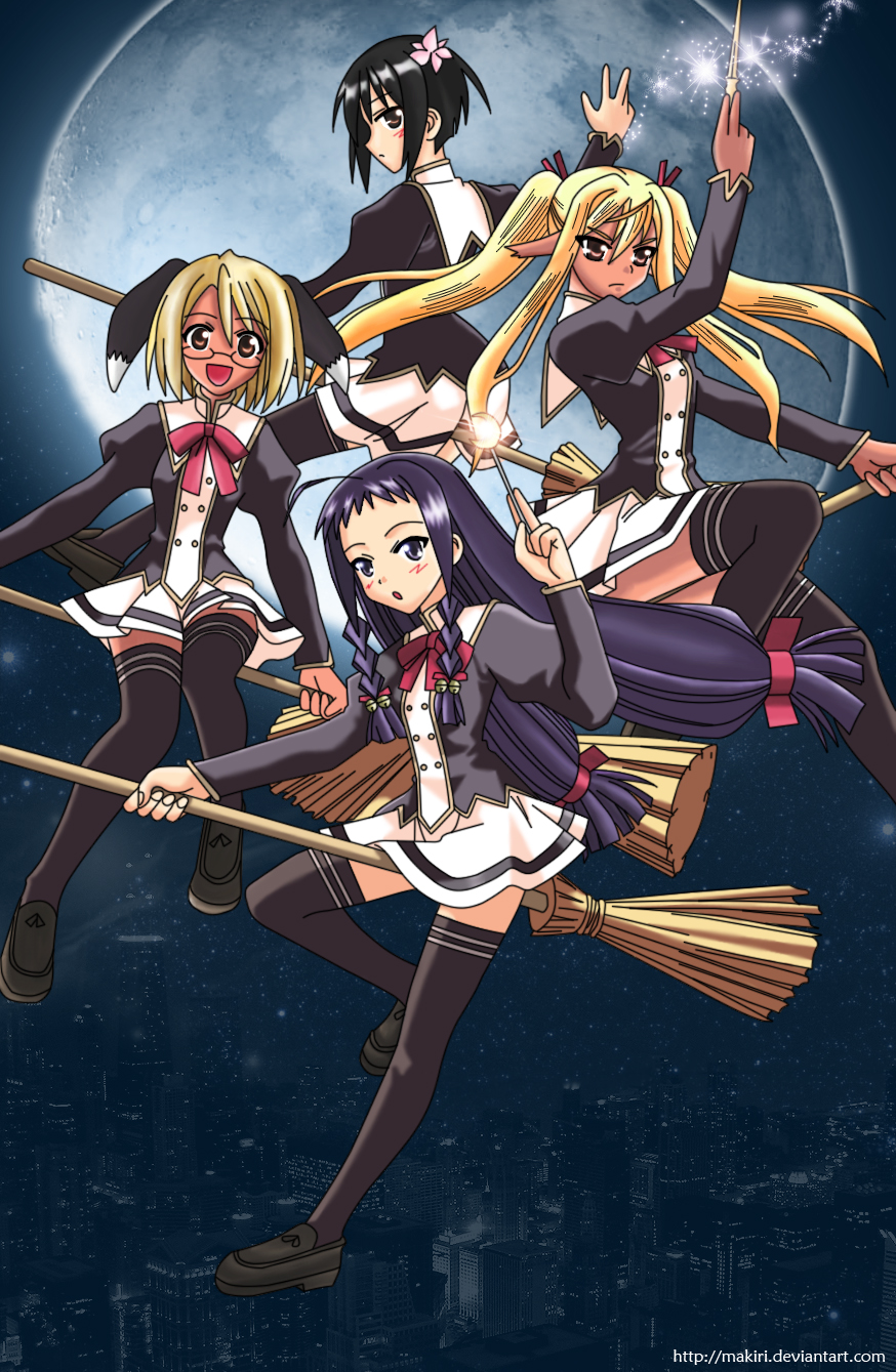 negima anime coloring pages - photo#43