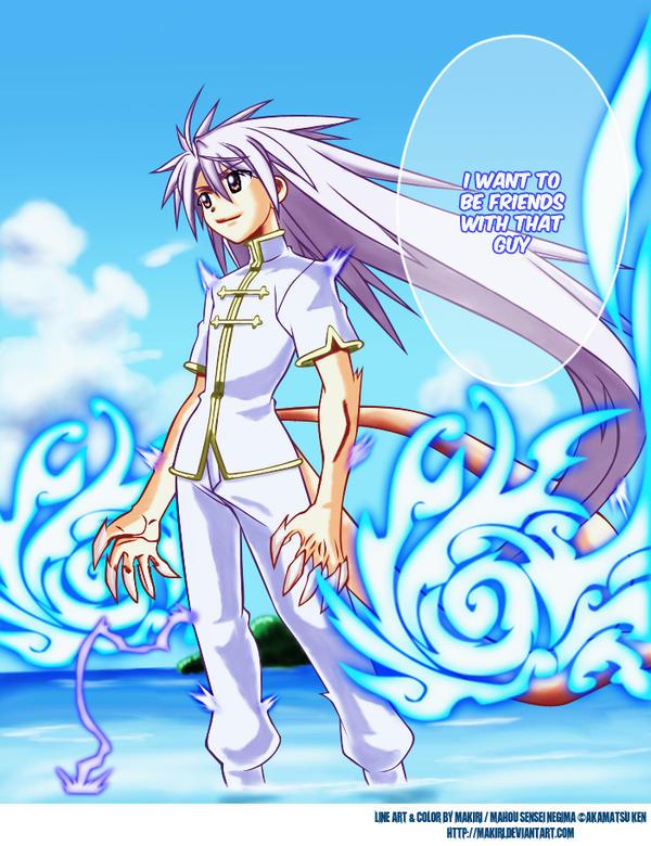 "Negi ""i want to be his friend"" by makiri"