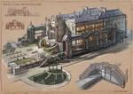 La Revolution. 1625. Rich Class Architecture