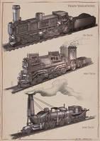La Revolution 1625 Train Variations by dsorokin755