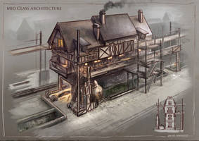 La Revolution. 1625. Mid Class Architecture by dsorokin755