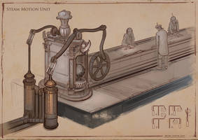 La Revolution 1625 Steam Motion Unit 1 by dsorokin755