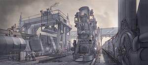 La Revolution 1625 Train Yard