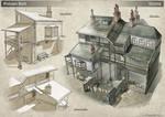 Poison Belt. Slums Architecture