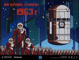 PREY - Epic Mural by dsorokin755