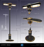 PREY - Neo Deco Light Post