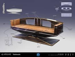 PREY - Neo Deco Bench by dsorokin755