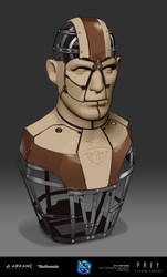 PREY Typhon Hunter - Mannequin Torso