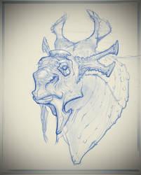 Rhinedeer sketch