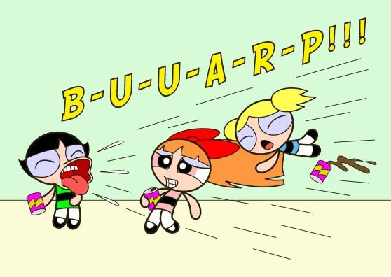 The Big Burp by HMontes