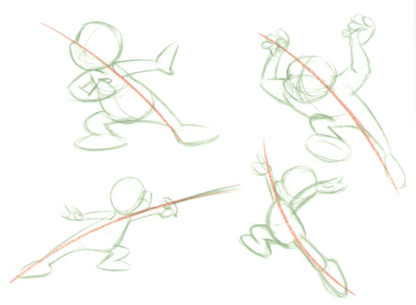 Line Art Action Photo : Line of action by hmontes on deviantart