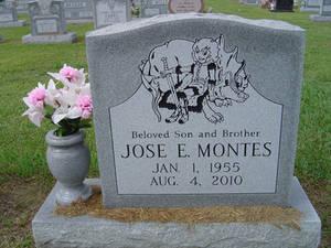 Jose's Headstone