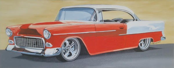 Cadillac 1957 by FictionFactory77