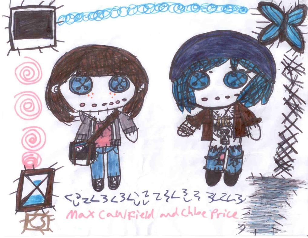 Max and Chloe Rag Dolls by AgentofMischief