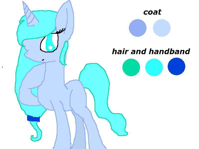 Ice pony by rockythebunny13