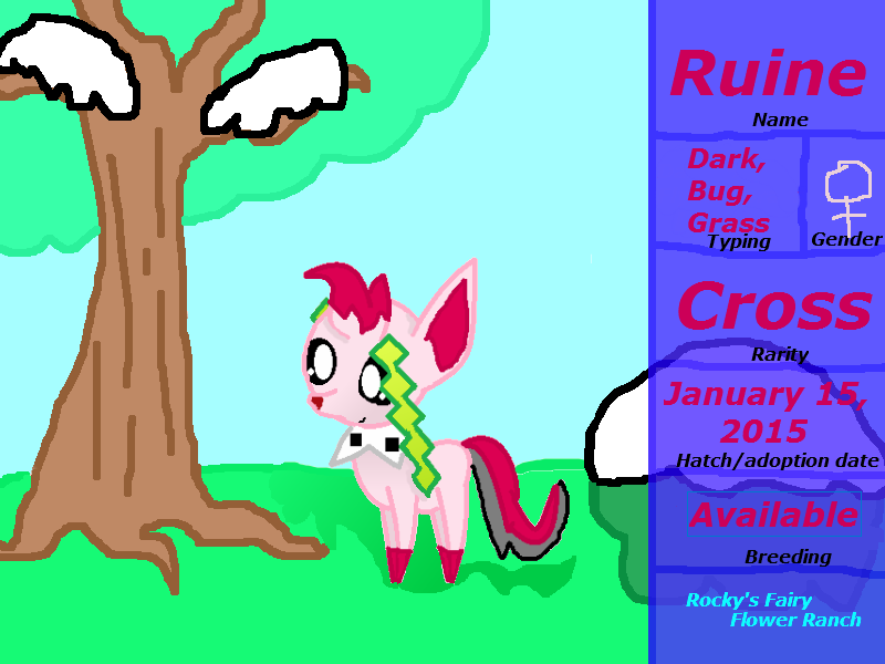 Rocky's Fairy Flower Ranch Ruine by rockythebunny13
