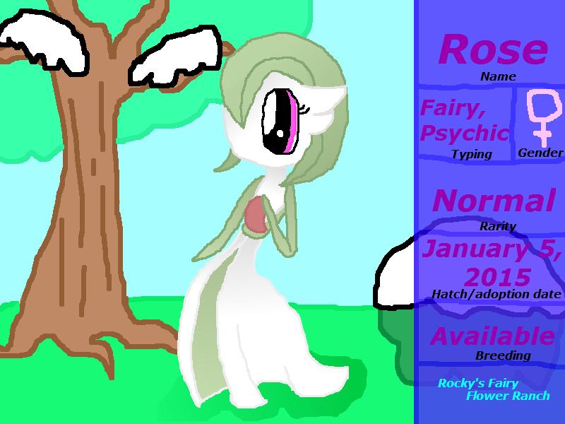 Rocky's Fairy Flower Ranch Rose by rockythebunny13