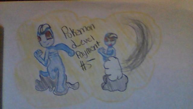 Pokemon level payment #5 by rockythebunny13