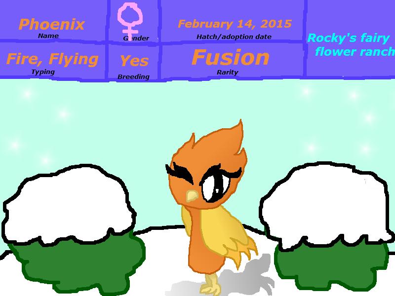 Rocky's Fairy Flower Ranch Phoenix by rockythebunny13