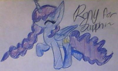 Pony for Sapphi by rockythebunny13